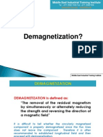 16 DEMAGNETIZATION