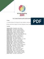 ICC Cricket World Cup 2010 Match Schedule