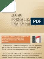 Diapositivas - Cómo Formalizar Una Empresa