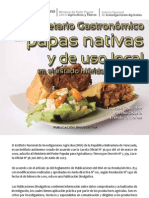 Recetario gastronómico con papas nativas de Mérida, Venezuela