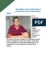 Entrevista Dr. Oscar Crognoletti