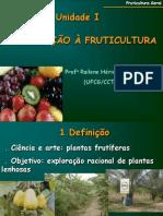 Introdução à Fruticultura