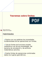 02 Teoremas Sobre Limites