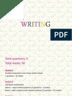 Seminar English on Writing