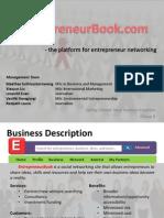 Group 9 - EntrepreneurBook Presentation