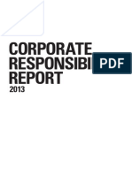 2013 Corporate Responsibility Report