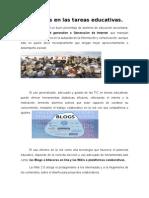 Los Blogs en Las Tareas Educativas. Resumen_Garrido_Hernandez_Ricardo