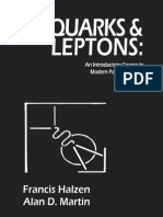 [Francis Halzen & Alan D. Martin] - QUARKS & LEPTONS; An Introductory Course in Modern Particle Physics