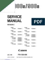 Canon PC920 Service Manual