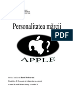 Proiect La Comportamentul Consumatoruilui(1)
