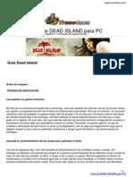 Guia Trucoteca Dead Island Pc
