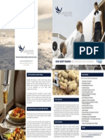 Food Safety Training For Corporate Flight Attendants