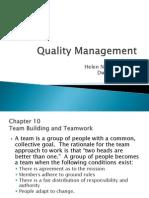 Quality Management zaid