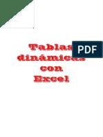 Tablas Dinamicas Con Excel