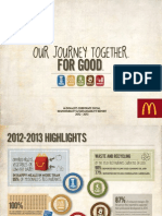 McDonald's 2012-2013 Corporate Social Responsibility & Sustainability Report