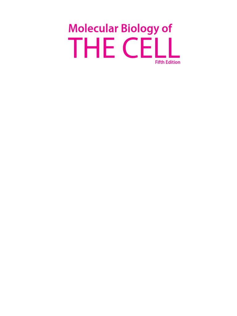 Molecular Biology Of The Cell Alberts Pdf
