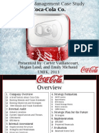Coca cola business plan