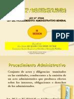 Procedimiento Administrativo General Marco Legal y Aplicaciones Practicas Sesion III Celap 21 Marzo 2013 Bcn Ppt Ok1