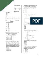 Form 2 Paper I