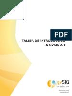Course GvSIG 2.1-Es Mexico 2014