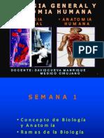 Clase Semana 1 Biologia 2014-I