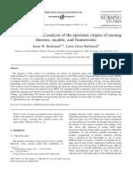A Multidimensional Analysis of the Epistemic Origins of Nursing