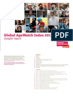 Global AgeWatch Index 2013 Report