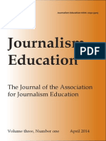 Journalism Education Issue 3-1