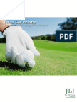 China Golf Industry Report