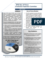 CIIC Use of Force Systemic Issue Report 2014