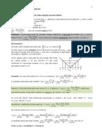 Calc Diferencial 2012.2_Texto Sobre Derivada e Exercicios
