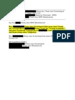 Scientology Österreich - Mail Unterwanderung Wirtschaft 1