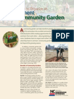 How to Organize an Allotment Community Garden