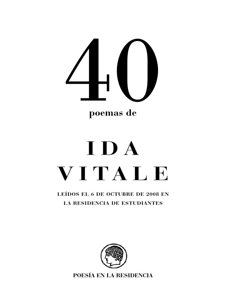 Ida Vitale - Selección de Poemas