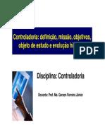 FCC047 Introducao Controladoria Controladoria Origem Evolucao