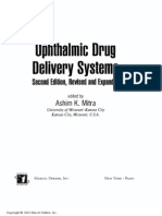 Ophtalmic Drug Delivery System, 2nd Ed