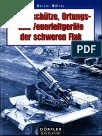 Die Geschütze, Ortungs- und Feuerleitgeräte der schweren Flak