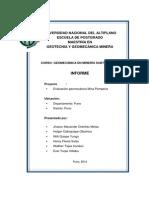 Proyecto Mina Pomperia