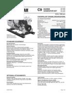 Cat C9 Genset Spec Sheet