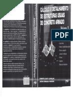 Cálculo e Detalhamento de Estruturas Usuais de Concreto Armado Volume 2 Roberto Chust Carvalho