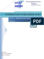 Livret 1 Publisher 2003