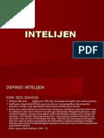 Intelijen Dan Terorisme