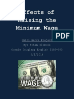 effects of raising the minimum wage