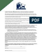 ECR Liability Release Form