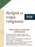 Religia si viata religioasa