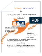 Summer Training Project Report on