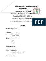Informe N. 1 Bioquimica