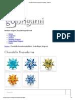 Chandelle Kusudama by Maria Sinayskaya - Diagram