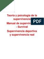 Teoría y Psicología de La Supervivencia
