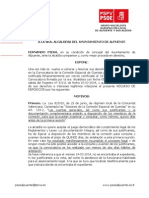 Recurso Reposicion Contra Convocatoria Comision Cuenta General 2014 WEB